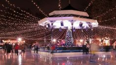 Winter Wonderland, Hyde Park, London.