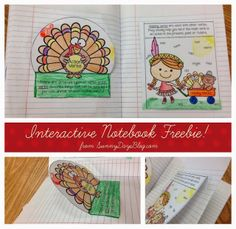 November Resources and Interactive Notebook Freebie