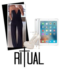 """""""Ritual - Angie #1"""" by keywolf ❤ liked on Polyvore featuring Rossetto, Apple and Giuseppe Zanotti"""