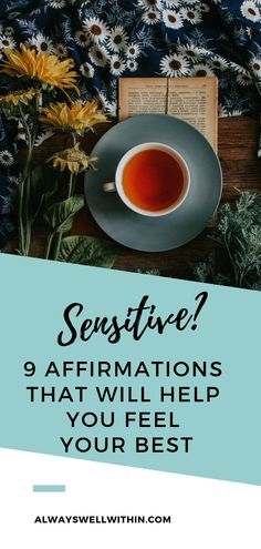 If you feel ready to validate yourself as a highly sensitive person or empath, try out these 9 affirming affirmations. Highly Sensitive Person, Sensitive People, Health And Fitness Tips, Health Tips, Finding Inner Peace, Self Healing, Emotional Healing, Coping Skills, Positive Affirmations