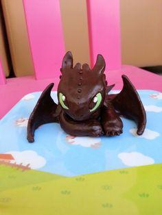 Cake topper Toothless