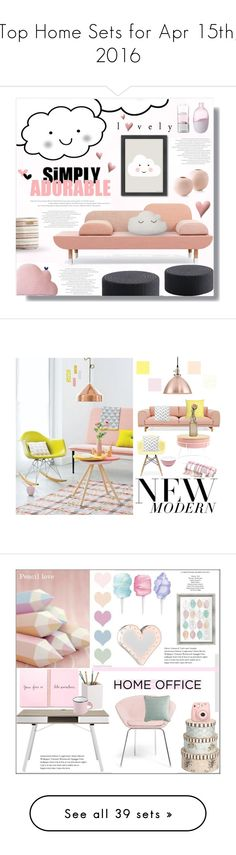 """Top Home Sets for Apr 15th, 2016"" by polyvore ❤ liked on Polyvore featuring interior, interiors, interior design, home, home decor, interior decorating, Americanflat, MOROSO, Pehr and Bloomingville"
