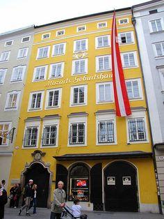 Mozart's House  Salzburg, Austria... been here.
