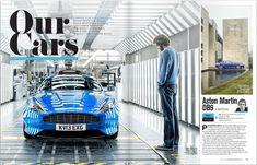 car magazine layout - Google Search