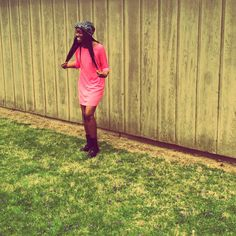 pink shirt dress #baydiangirl