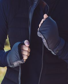 Lululemon Fluffed Up Mittens $48