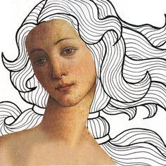 Venus · Art Projects for Kids Easy Art Projects, Drawing Projects, Projects For Kids, Art Lessons For Kids, Art For Kids, Portrait Art, Portraits, 6th Grade Art, Ecole Art