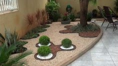 Coming across rock landscaping ideas backyard can be a bit hard but designing a rock garden is one of the most fun and creative forms of gardening there is. Rock Garden Design, Garden Landscape Design, Small Garden Design, Landscaping With Rocks, Front Yard Landscaping, Landscaping Design, Mulch Landscaping, Backyard Designs, Small Gardens