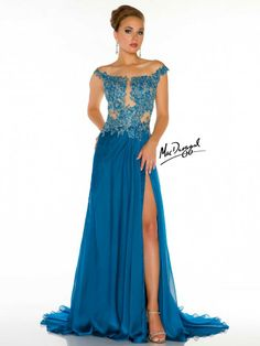 Couture Dresses by Mac Duggal Style 61355D now in stock at Bri'Zan Couture, www.brizancouture.com
