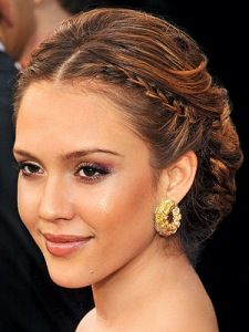 jessica alba hairstyle...my confirmation hair!!!
