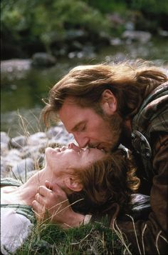 Liam Neeson and Jessica Lange in Rob Roy (1995)