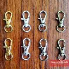 "FREE SHIP 20pcs Tibetan silver /""Elephant/"" Lobster Clasps"