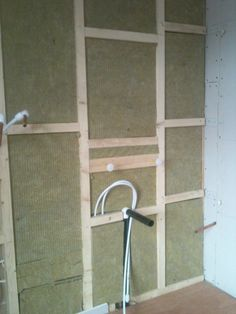 Sound Slab, Stud Framed Wall with Plumbing ready for plaster boarding and Plastering