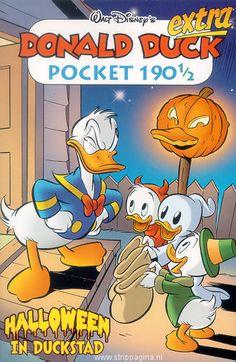 Donald Duck: 190b. 190 1/2 Extra pocket: Halloween in Duckstad