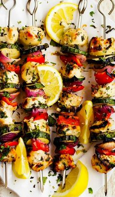 Grab the skewers, we're hitting the grill! These kabob recipes--some of the most beloved on Pinterest--will make you fall back in love with...