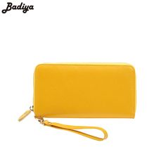 New Cow Leather Fashion Women Long Wallet Multifunction Wallets With Phone Case Female Genuine Leather Purse Ladies Card Holder