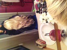 Barbie hair!