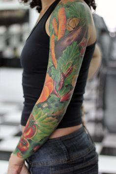 Tatto Verduras