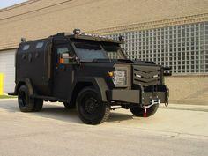 HEAT Armor SWAT Truck