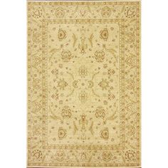 nuLOOM Traditional Ziegler Mahal Ivory Rug (7'10 x 11') - Overstock™ Shopping - Great Deals on Nuloom 7x9 - 10x14 Rugs