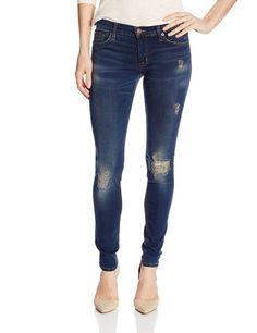 Hudson Women's Krista Distressed Skinny Jean In Addicted, Addicted, 24