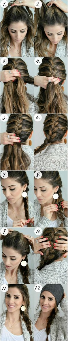 Pretty Braided Crown Hairstyle Tutorials and Ideas 2