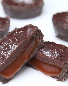 6-Ingredient No-Bake Caramel Tarts