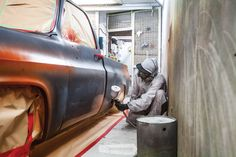 Advanced ageing: how to create a faux patina — The Motorhood Old Ford Trucks, Chevy Pickup Trucks, New Trucks, Cool Trucks, Rust Paint, Patina Paint, Patina Metal, Chica Chevy, Truck Paint Jobs