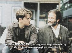 BROTHERTEDD.COM I Love You Honey, Good Will Hunting, Bad Timing, Tv Series, Tv Shows, Films, Movies, Words, Fictional Characters