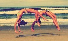 Thème 17 : la gymnastique à la plage ♥ - Images-