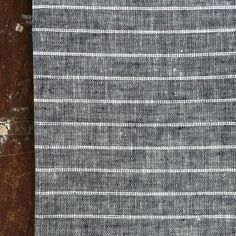 shop fog linen — Kitchen Cloth: Navy White Stripe