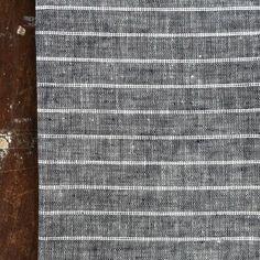 shop fog linen — Kitchen Cloth: Navy White Stripe