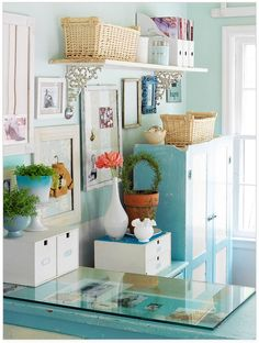 cute and bright #home #office