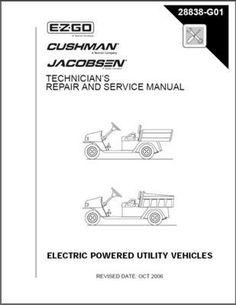 ezgo 28560g01 1999 2000 technician s repair and service manual for rh pinterest com ez go owners manual free 1996 ez-go service manual