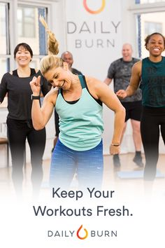 With a new workout every day, and a library of workouts on demand, Daily Burn has the variety to keep you coming back for more. Click the above image to start your 30 day FREE trial!