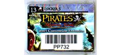 2007 Convention exclusive for Wizkids Pirates of the Mysterious Islands constructible game! Only $2!!!