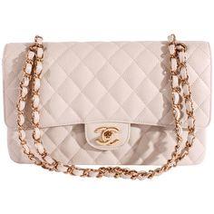 ab7bcdcdb146 2005 Chanel 2.55 Caviar Medium Classic Double Flap Bag - light gray/gold Chanel  Purse