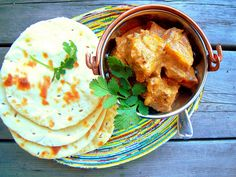 Recipes for Taar Korma and Naan - not sure when I'll end up with goat meat, but when I do, I'll know how to cook it!