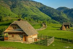 Romania is a famous country in the Balkan community of the European continent. Romania is situated a. Most Romantic Places, Beautiful Places, Villas, Little Cabin, Back Road, Cabins And Cottages, Belleza Natural, Old Houses, Barn Houses