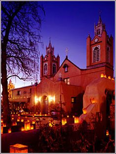 The beautiful San Felipe de Neri church is the third oldest Hispanic church in New Mexico, and the oldest building in Albuquerque