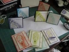 Embossing resit with the in-color frenchiestamps.com