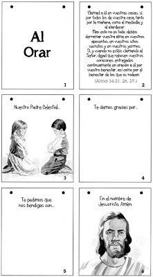 Tiempo para Compartir: Las Escrituras me enseñan la forma de orar.