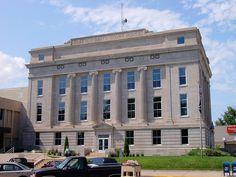 Platte County Courthouse - Columbus, Nebraska