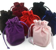 quality pouches for jewelry gift Jewelry Pouches, Jewelry Gifts, Drawstring Bags, Pouch Bag, Ring Necklace, Small Gifts, Glass Beads, Velvet, Bracelets