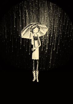 It's Raining by aimeecanto hitRECord