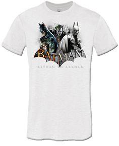 T-shirt Batman Return to Arkham