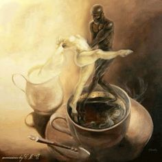 Does your coffee dance? Coffee Is Life, I Love Coffee, Coffee Time, Gif Café, Up Imagenes, Beaux Couples, Love You Images, Good Morning Coffee, Coffee Pictures