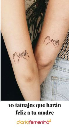 25 Meaningful Sister Tattoo Ideas for 2019 - The Trend Spotter - Tattoo minimaliste geometric, Tattoo minimaliste meaning Tattoo minimaliste symbole linear, Tattoo minimaliste ,Tattoo minimaliste flower Model Tattoos, Twin Tattoos, Dainty Tattoos, Sibling Tattoos, Paar Tattoos, Bff Tattoos, Best Friend Tattoos, Cute Tattoos, Body Art Tattoos