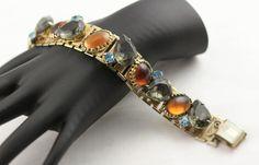 Sophisticated Juliana Extra Large Rhinestone Bracelet by MJGTreasures on Etsy