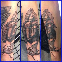 luis royo tattoo